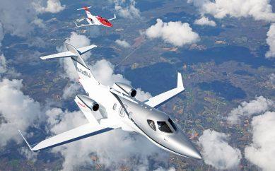 Aviones: Honda Jet, innovación y eficiencia
