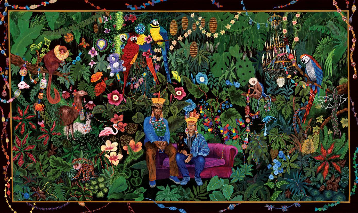 chiachio-y-giannone-la-famille-dans-la-joyeuse-verdure-cite-internatinale-de-la-tapisserie-aubusson