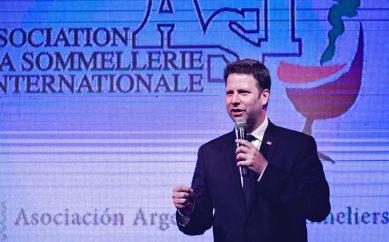 Nuevo presidente de la Asociación de la Sommellerie Internacional