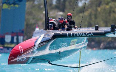 La Copa América: barcos que vuelan