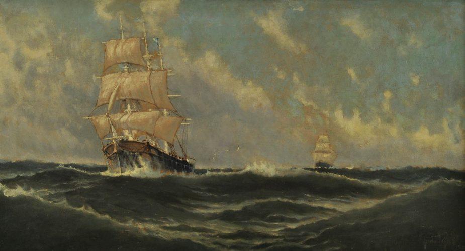 Los barcos en el arte de los argentinos