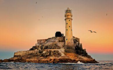 Imponentes vigías de los cinco océanos